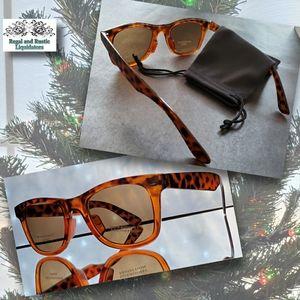 🧡 Amber Brown Wayfair Polycarbonate Sunglasses